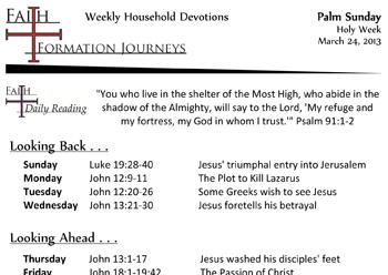 18 March 24 - Palm Sunday Year C