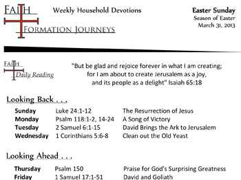 19 March 31 - Easter Sunday Year C
