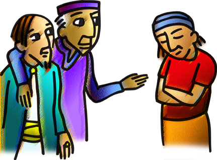 Children's Sermon March 10, 2013 Luke 15:1-3, 11b-32 Lent 4C
