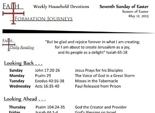 25 May 12 - Seventh Sunday of Easter Year C