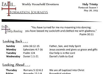 27 May 26 - Holy Trinity Year C