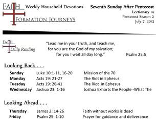 33 July 07 - 7th Sunday Pentecost Lec 14 Year C
