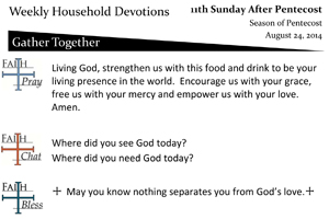 40 Aug 24 - eleventh Sunday After Pentecost.pub