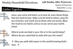 42 Sept 7 - Thirteenth Sunday After Pentecost.pub