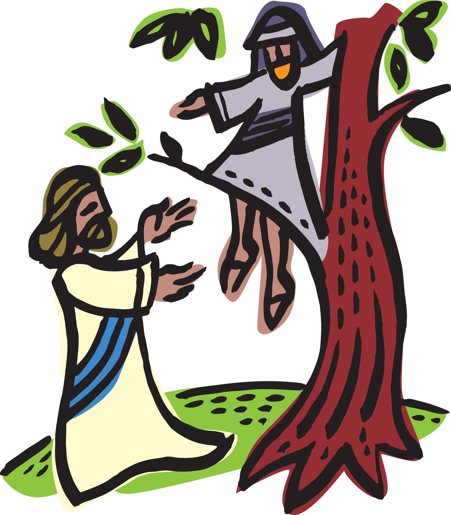 Zacchaeus! Children's Sermon Luke - 331.1KB